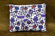 Peacock Mandala Clutch Bag Indian Handmade Bags Cotton Boho Bohemian Purse Bags