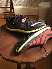 Brooks Pure Grit 2 Men's Multicolored Red/Black/Green Running Shoes Size 10.5