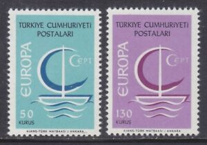 Turkey 1718-19 MNH 1966 EUROPA Set VF