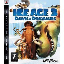 ICE Age Amanecer de los dinosaurios PS3 PlayStation 3 video juego como nuevo UK release