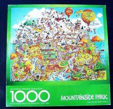 1979 Springbok Robert Martin MOUNTAINSIDE PARK 1000 pc Puzzle 24x30 Complete VGC
