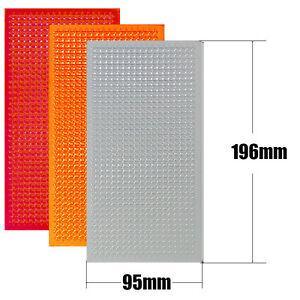 Car Auto Lens Repair Tool Kit 3 Colors Multi-Pack for Tail Turn Signals Light