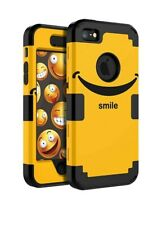 iPhone 5 / 5s / SE, Cute Fashion Silicone + Plastic Three Layer Durable Heavy...