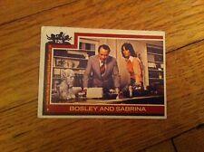 Vintage CHARLIE'S ANGELS Trading Card #126 KATE JACKSON Bosley and Sabrina TV