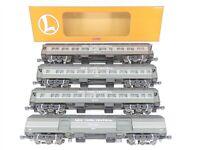 O Gauge 3-Rail Lionel NYC New York Central Heavyweight Passenger 4-Car Set