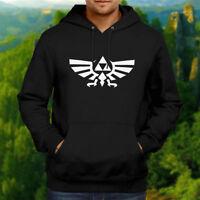 The Legend of Zelda Wingcrest Nintendo Hooded Sweater Jacket Pullover Hoodie