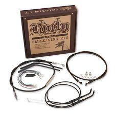 Burly Brand - B30-1100 - Extended Cable/Brake Line Kit for 16in. Ape Handlebars~