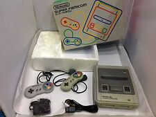 Nintendo Super Famicom console with box and adapter for 100V-240V S18355451 F/S