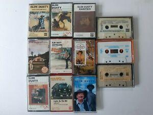 12 SLIM DUSTY BULK MUSIC CASSETTE TAPES