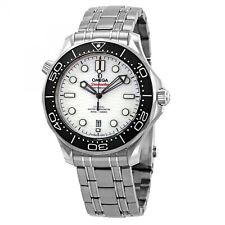 OMEGA Seamaster Diver 300m Steel 42 Mm White Dial Watch 210.30.42.20.04.001 2020