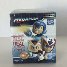 MEGAMAN BATTLE DAMAGE MULTIPLE ARTICULATIONS  REAL ACTION VINYLS