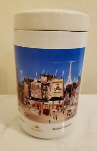 RARE Montecristo Michel Delacroix Ceramic Jar - Cigar Container