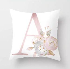 Buchstaben(A)Kissenhülle,Kissenbezug, Polyester,45 × 45 cm