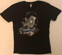 SHAWN MENDEZ World Tour Size Medium Black T-Shirt