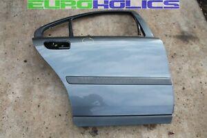 Volvo S60 01-09 Right Rear Passenger Door Shell Titanium Gray Metallic