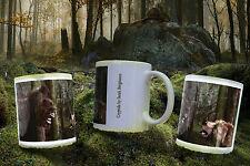 Fototasse Becher Cup Mug Bigfoot vs Bear Yeti Sasquatch - Paypal on demand