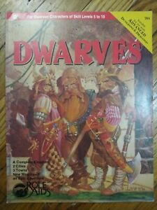 Dwarves Adventure Cities Kingdom Role Aids Mayfair Advanced Dungeons & Dragons