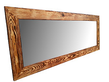 Handmade Reclaimed Wood Framed Mirror