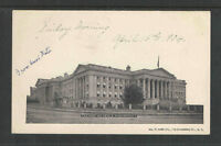 1904 TREASURY BUILDING WASHINGTON DC UDB UNDIVIDED BACK POSTCARD