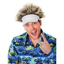 Golf Hat and Hair Wig Fancy Dress. Bristol Novelty. HUGE Saving