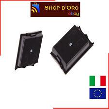COVER BATTERIE PORTA BATTERIA NERO PER CONTROLLER PAD XBOX 360 BLACK XBOX360