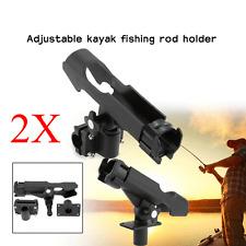 2X Side Rail / Directly Installed on Kayak & Boat Fishing Pole Rod Holder