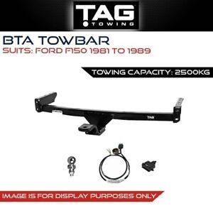 Tag Towbar Fits Ford F150 1981 - 1989 Towing Capacity 2500Kg 4x4 4WD
