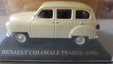 1/43 - RENAULT COLORALE PRAIRIE - 1952 - NOS CHÈRES VOITURES D'ANTAN - ALTAYA