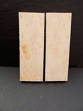 Birds Eye Maple book matched Knife scales/Knife making