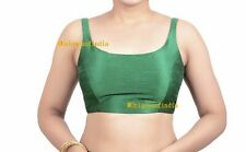 Readymade Saree Blouse,Green Blouse, Party Wear Sari Top, Ready To Wear Choli