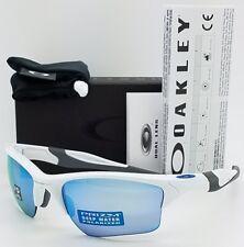 NEW Oakley Half Jacket 2.0 XL sunglasses White Prizm Deep H2O Polarized 9154-58