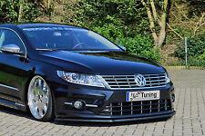 Spoilerschwert Frontspoiler Lippe Cuplippe aus ABS VW Passat CC R-Line mit ABE