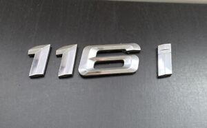 BMW 116i Rear Number Badge Logo Emblem (D23)