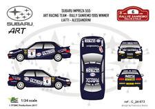 [FFSMC Productions] Decals 1/24 Subaru Impreza WRX Liatti Sanremo 95 Winner