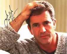 MEL GIBSON REPRINT AUTOGRAPHED SIGNED 8X10 PICTURE PHOTO COLLECTIBLE RP