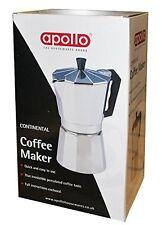 9 Cup Espresso Coffee Maker Aluminium Cappuccino Coffee Cafetieres Mocha Pot