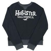 VGC HOLLISTER Spell Out Sweatshirt | Men's Slim XL | Sweat Retro Jumper Top