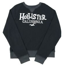 VGC HOLLISTER Spell Out Sweatshirt | Men's Slim XL | Sweat Retro Jumper Top