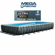 INTEX 26378 GENERATORE CLORO Piscina Intex Fuoriterra Ultra Metal 975x488x132