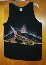 Hawaii The Big Island Volcano Uni sex Tank Top Shirt Men Size L ~ San Ségal '89
