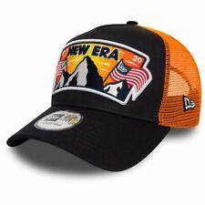 New Era Adjustable Trucker Cap - USA PATCH navy
