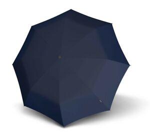 Knirps Business Line Fiber T2 Duomatic Regenschirm Blau Blue