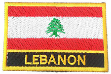Lebanon Embroidered Sew or Iron on Patch Badge