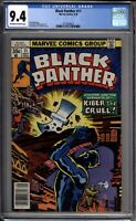 Black Panther 11 CGC Graded 9.4 NM Marvel Comics 1978