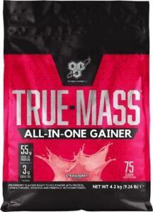 BSN True Mass All In One Gainer Weight Gain High Protein Shake Powder 4.2kg NEW
