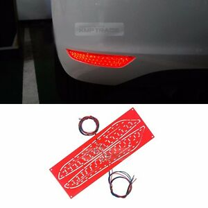 Rear Bumper Reflector 2Way Brake LED Module 2Pcs for VOLKSWAGEN 10-12 Golf 6th