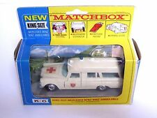 Matchbox Lesney K-6b Mercedes-Benz 'Binz' Ambulance (VERY GOOD CONDITION)
