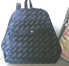 "Macy's New York Backpack ~ Macy's Stamped Across Black Backpack~ 12"" Bag ~NEW"