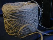 16 x 100g New 'PEBBLE' Wool. 2,320m Bulk Knitting Weaving Rug Carpet Yarn.7-1826