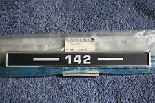 Volvo 140 142 Emblem badge boot trunk NOS new old stock